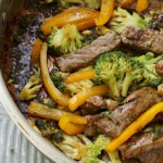 Ginger Beef with Broccoli Stir Fry | Kitchen Counter Chronicles