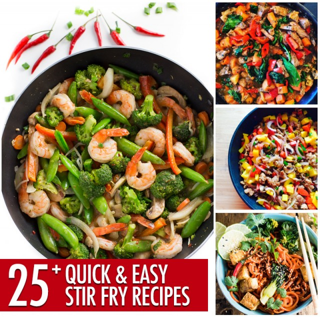 Over 25 Quick and Easy Stir Fry Recipes | Food Bloggers of Canada