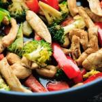 Teriyaki Chicken Stir Fry | Bake Eat Repeat