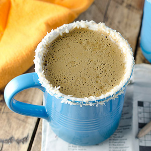 Healthy Pumpkin Coconut Latte | The Endless Meal
