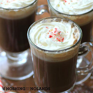 Peppermint Mocha Latte | Noshing with the Nolands