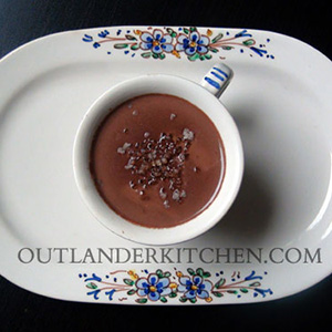 Hot Chocolate With La Dame Blanche | Outlander Kitchen