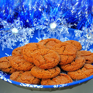 Molasses Cookies | The Inspired Home
