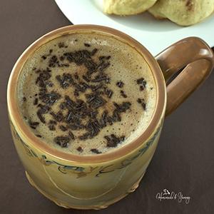 Chocolate Milk Latte | Homemade & Yummy