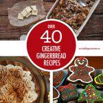 Over 40 Creative Gingerbread Recipe Ideas | Food Bloggers of Canada