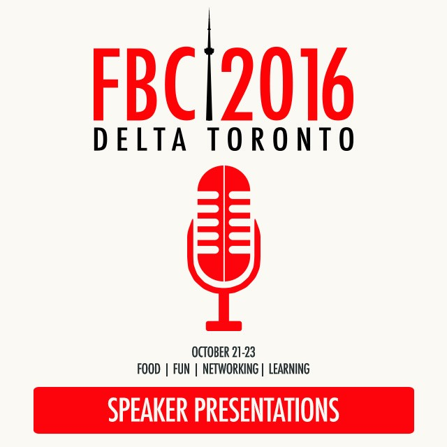 FBC2016 Speaker Sessions
