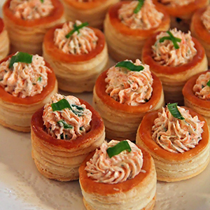 Easy Salmon & Cream Cheese Stuffed Puff Pastry | Jo & Sue