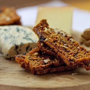Homemade Seeded Pecan Crackers | Climb Eat Cycle Repeat
