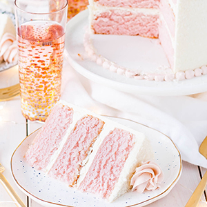 Pink Champagne Cake | Liv for Cake