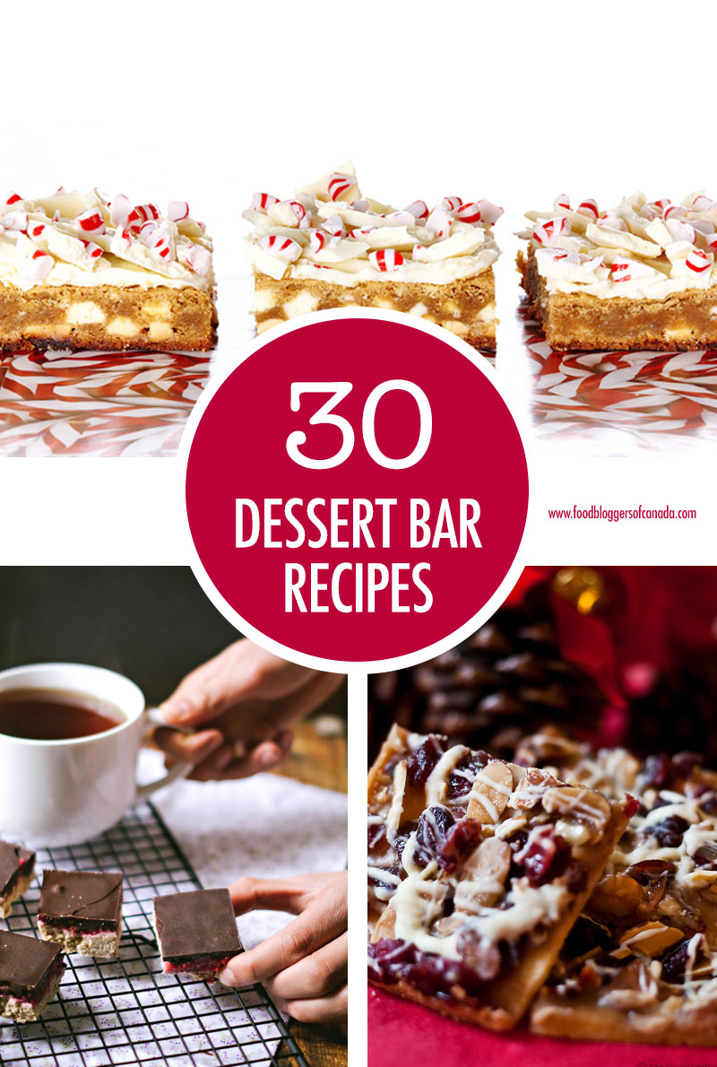30 Holiday Dessert Bar Recipes | Food Bloggers of Canada