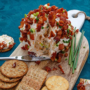 Bacon Apple Cheese Ball | The Cookie Writer