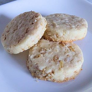 Oatmeal Shortbread | Old Fat Guy