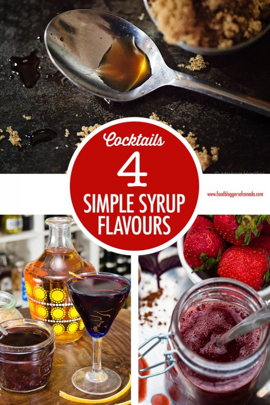 4 Simple Syrup Flavour Combos