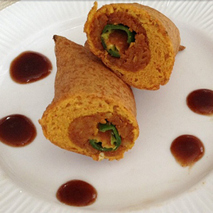 Stuffed Chilli Bhajjis | Mama's Secret Recipes
