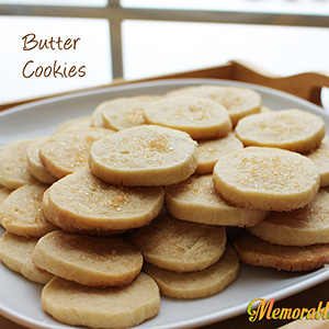 Butter Cookies | Memorable Dishes