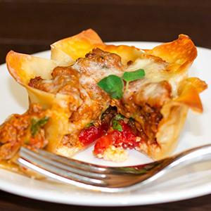 Mini Lasagna Cups | Cooking with Jax
