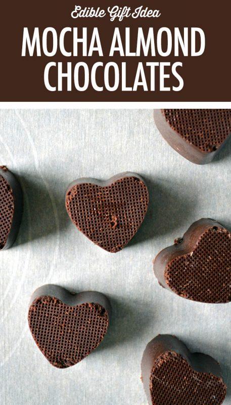 Dairy Free Mocha Almond Chocolates | Food Bloggers of Canada