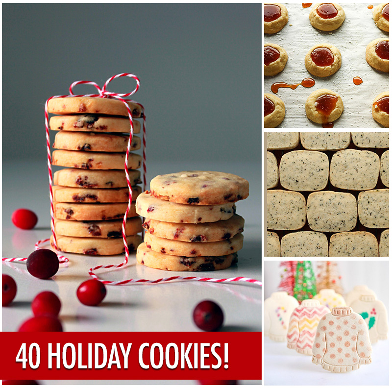 The Ultimate Holiday Cookie Recipe Swap - 40 Recipes | Food Bloggers of Canada