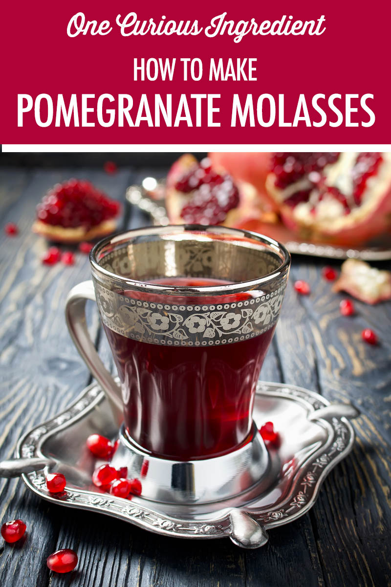 How to Make Pomegranate Molasses | Food Bloggers of Canada
