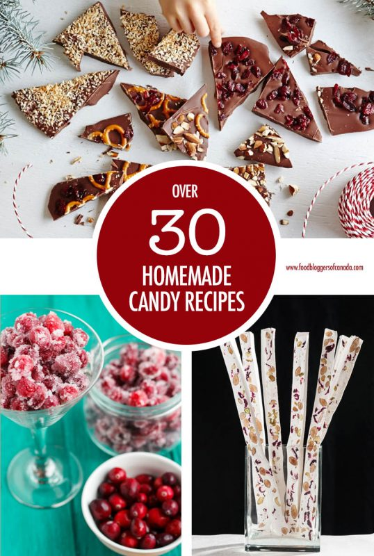Over 30 Homemade Candy Recipes | Food Bloggers of Canada