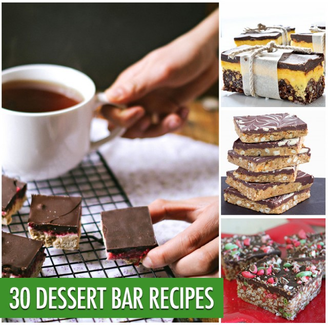 30 Dessert Bar Recipes | Food Bloggers of Canada
