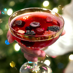 Sparkling Cranberry Punch | In Search of Yummyness