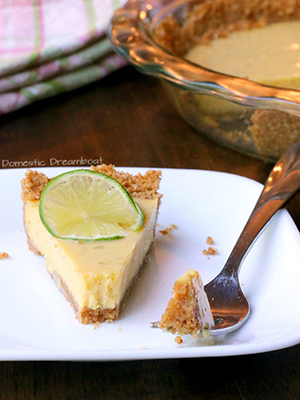 Super Simple Key Lime Pie | Domestic Dreamboat