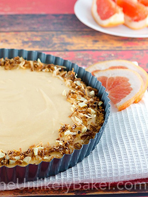 Grapefruit Tart | The Unlikely Baker