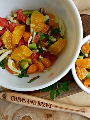 Citrus Salad | Chews and Brews