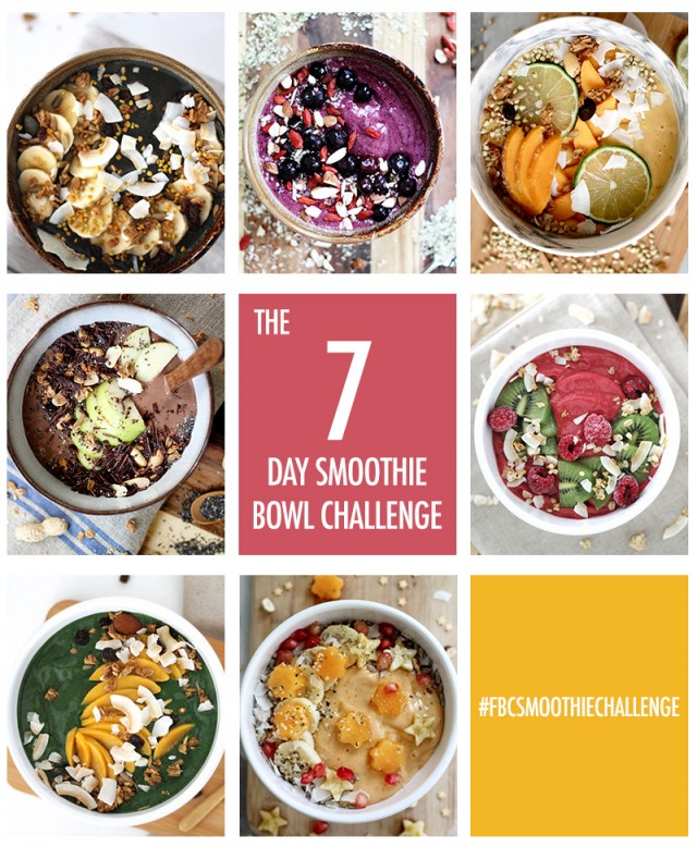 The 7 Day Smoothie Challenge | Food Bloggers of Canada