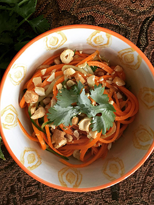 Thai Style Carrot and Cucumber Salad | Kitchen, Uncorked