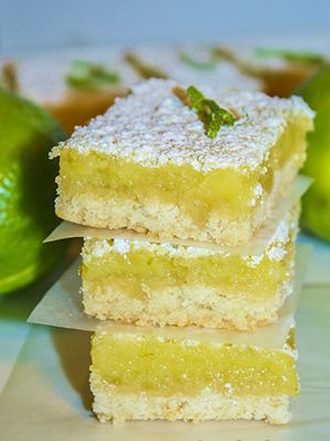 Luscious Lime Bars | Getty Stewart