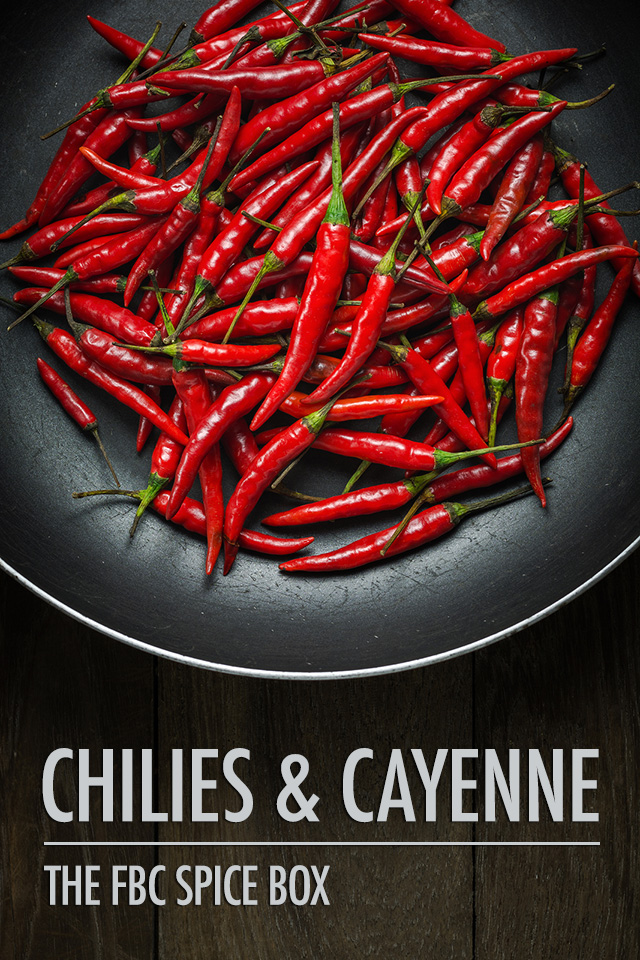 FBC Spice Box Chilies & Cayenne | Food Bloggers of Canada
