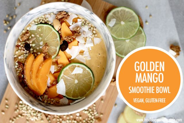 The Golden Mango Smoothie Bowl | Food Bloggers of Canada