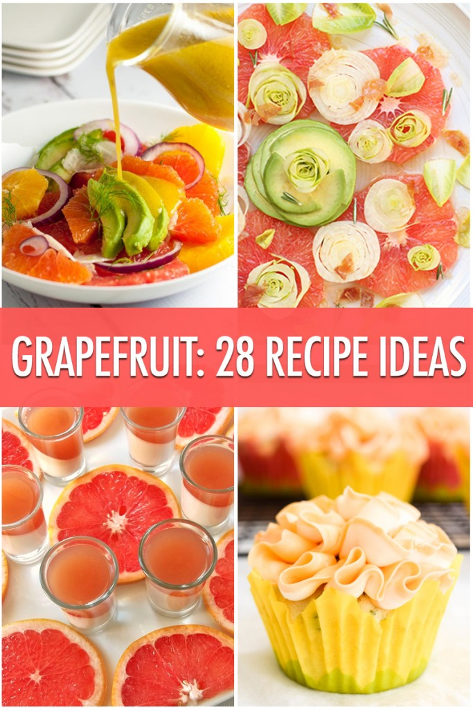 28 Grapefruit Recipe Ideas | Food Bloggers of Canada