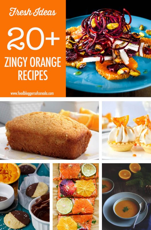 Over 20 Orange Recipes