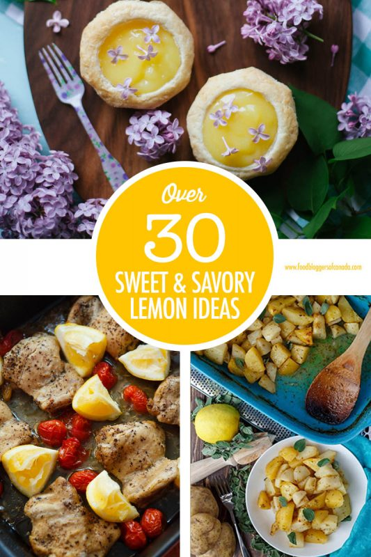Over 30 Lemon Recipe Ideas