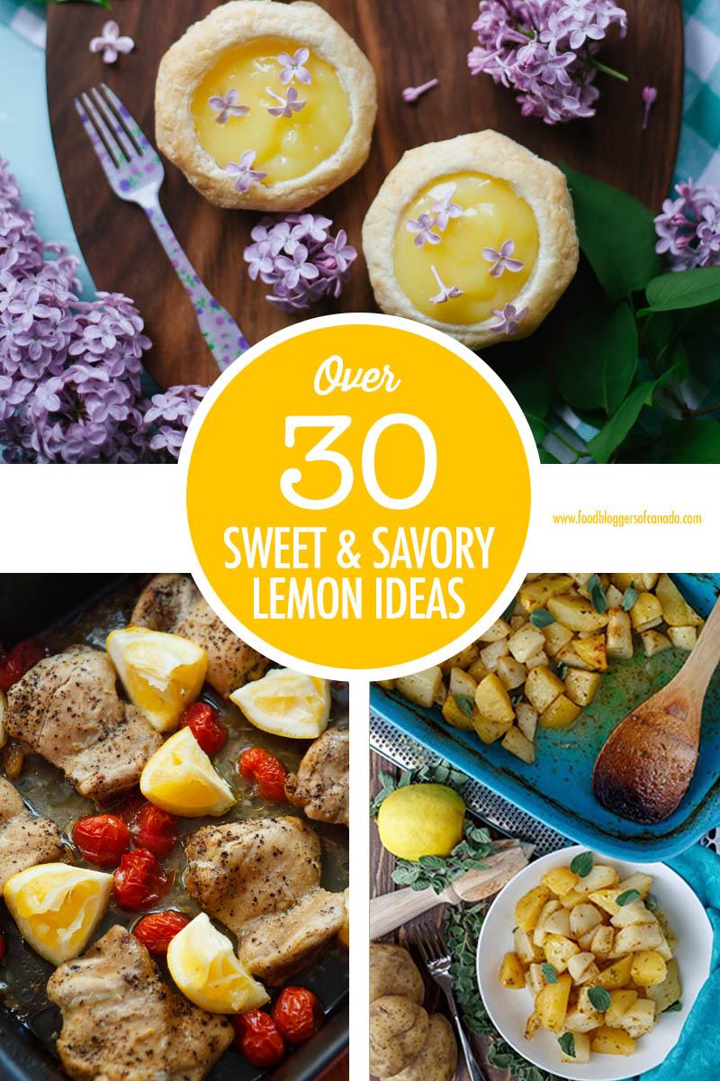 Over 30 Lemon Recipe Ideas