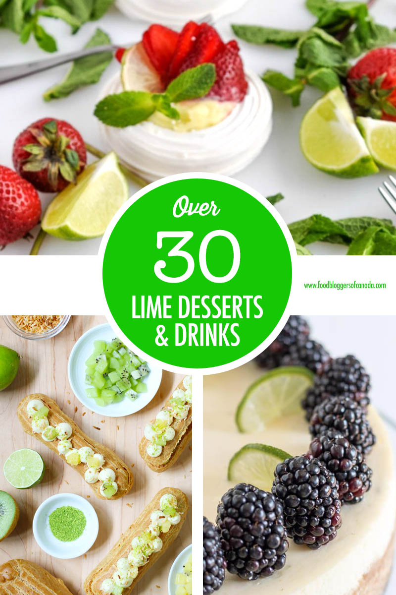Over 30 Limes Desserts & Drinks
