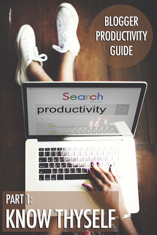 Blogger Productivity: Know Thyself | Food Bloggers of Canada