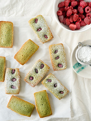Raspberry Pistachio Financier |Yummy Workshop