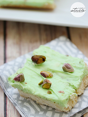 Pistachio Bars | Simply Stacie