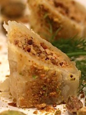 Pistachio Chicken Pastry Puffs | Urbn Spice
