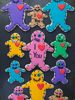 VooDoo Doll Cookies |The Cookie Writer