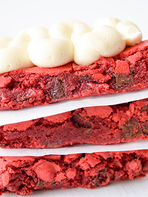 Red Velvet Brownies | Sweet Sundays
