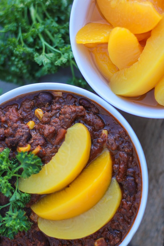 Chipotle Peach Chili | Food Bloggers of Canada
