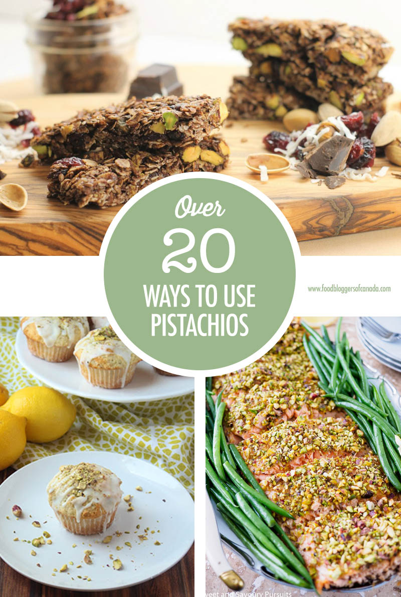 Over 20 Ways To Use Pistachios | Food Bloggers of Canada