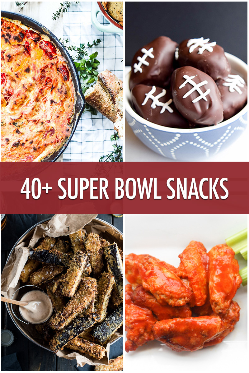 Over 40 super bowl snack recipes for the big game food bloggers over 40 super bowl snack recipe ideas food bloggers of canada forumfinder Image collections