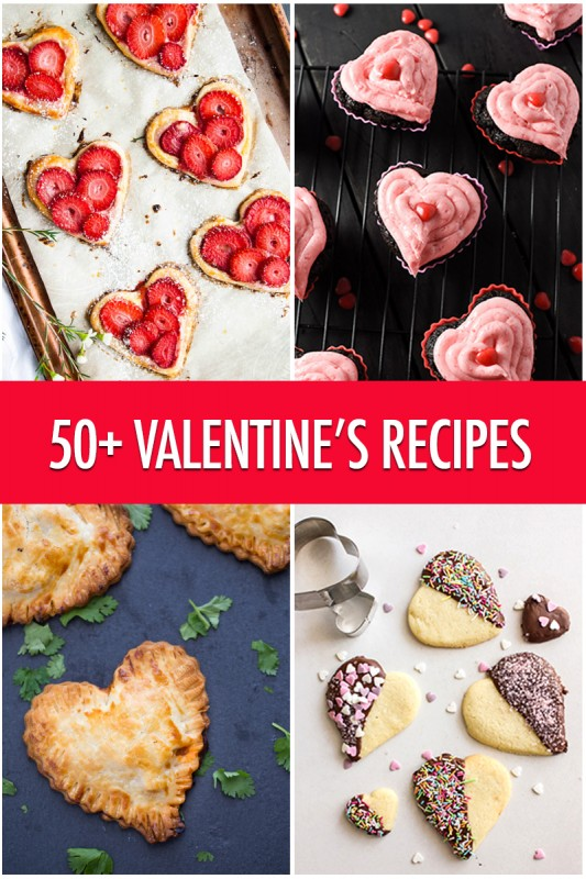 Over 50 Valentine's Recipe Ideas | Food Bloggers of Canada