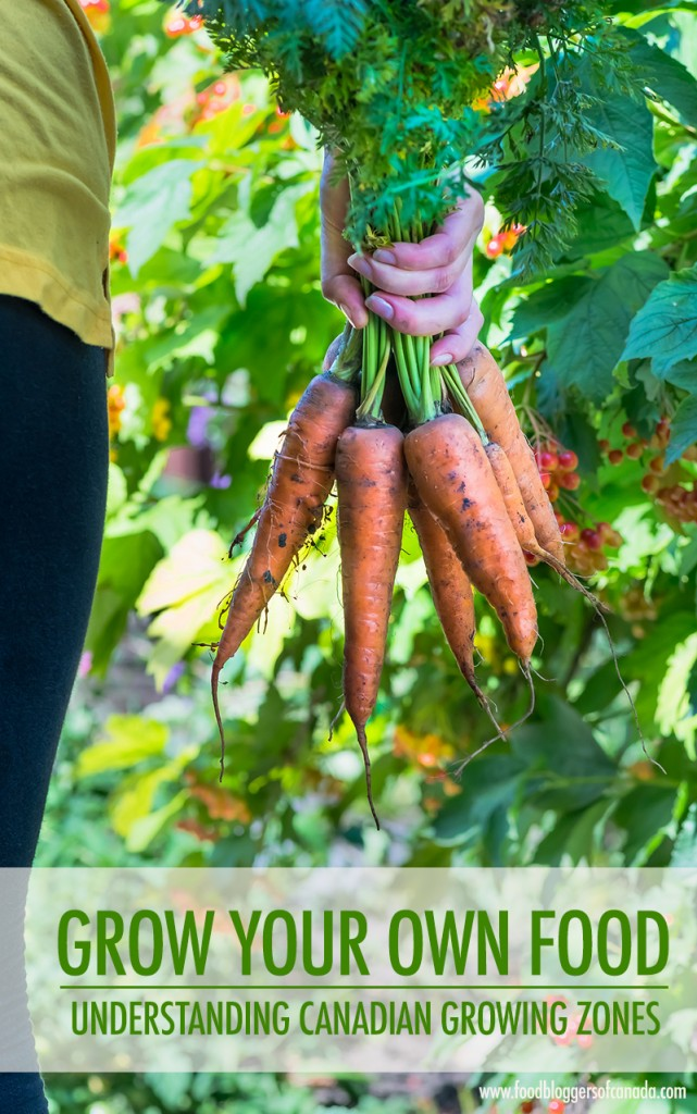 Grow Your Own Food: Know Your Canadian Garden Zone | Food Bloggers of Canada